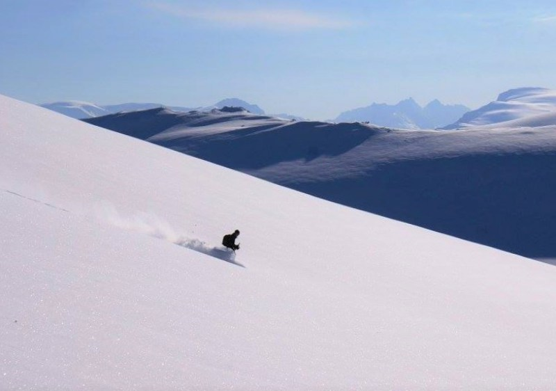 Lyngen Alps Powder (Photo - 9 Vallees)