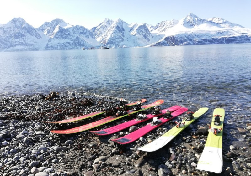 Ski & Sail Lyngen Alps (Photos - Sherpas Ride)