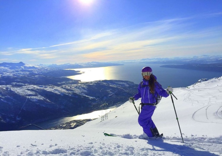 Ski Norway (Narvikfjellet ski resort).