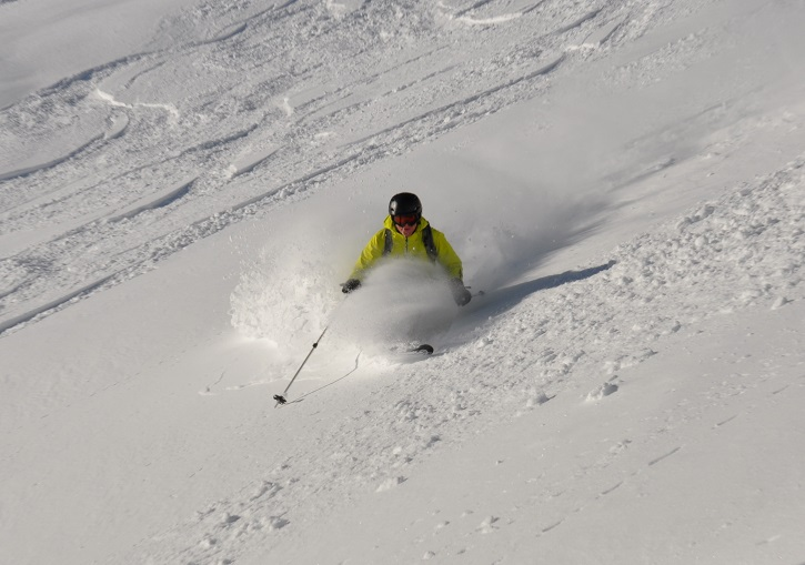 Ski Europe for perfect powder. La Thuile, Italy.