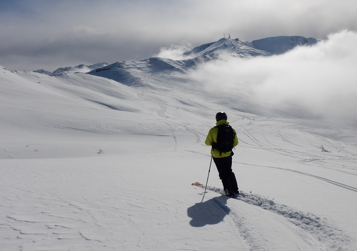 Ski Europe for solitude. Via Lattea, Italy.