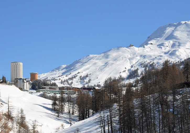 Ski Europe for quirky ski resorts. Sestriere, Italy.