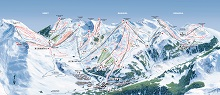 Bacqueira Beret Ski Trail Map