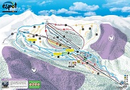 Espot Ski Trail Map