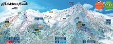 Alp 2500 Ski Trail Map