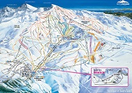 Sierra Nevada Ski Trail Map