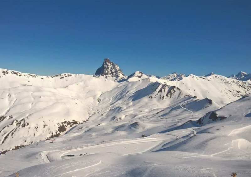 Candanchu ski resort is another of Spain's great options.