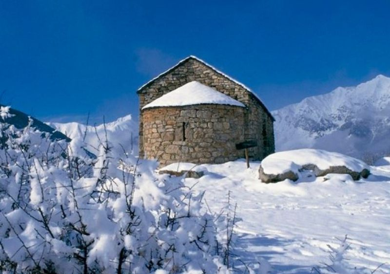 Mix skiing & history in Spain.