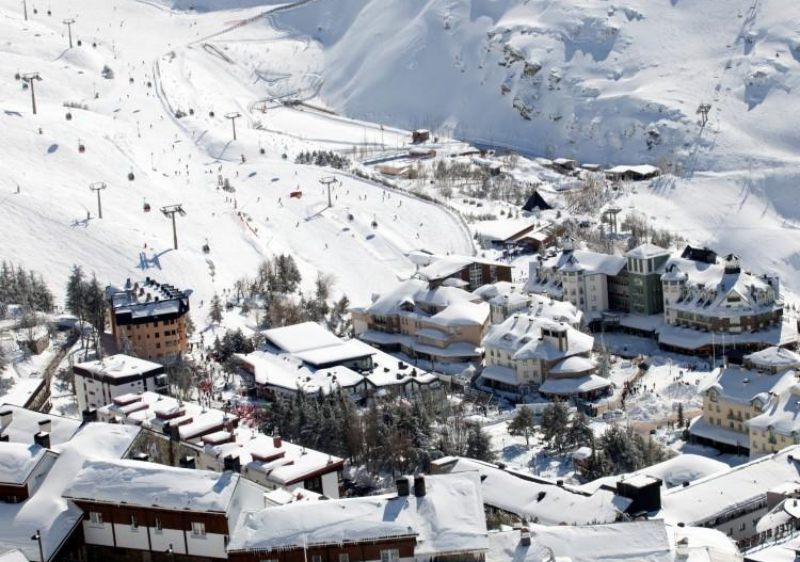 Sierra Nevada resort village in southern Spain.
