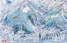 Printze Ski Trail Map