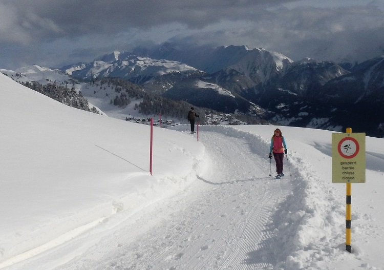 Aletsch Arena ski resort has over 70km of winter walking trails.