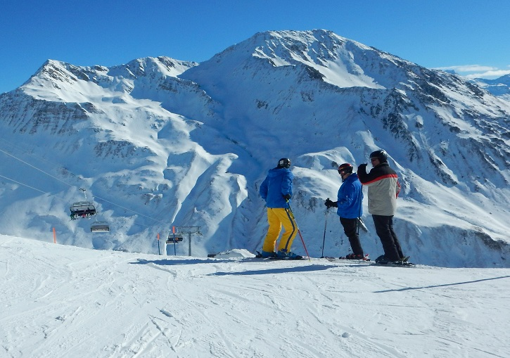 Andermatt Sedrun ski resort. Legendary free ride terrain.