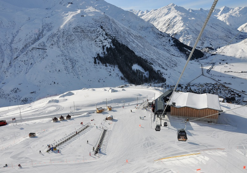 Andermatt Sedrun is expanding beginner and intermediate terrain.