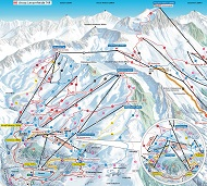 Arosa Ski Trail Map