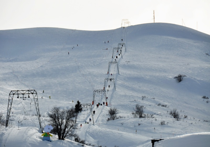 Main ski lifts at Bivio are all T-Bars.