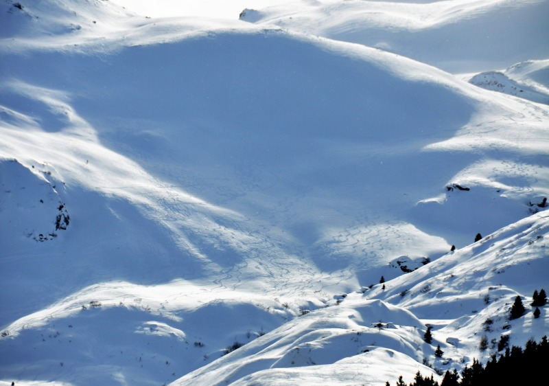 Ski Bivio backcountry for fun powder and adventure.