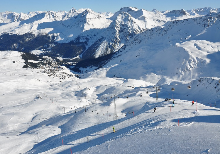 Arosa is just one ski resort close to Chur.