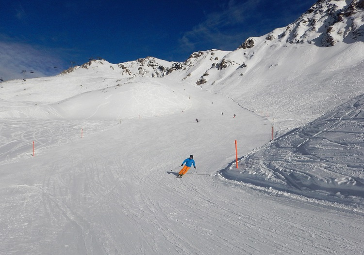 Lenzerheide ski resort has the Chur's best all round terrain.