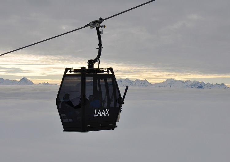 Laax is a ski resort near Chur with oodles of modern lifts & great terrain.