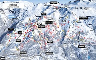 Crans Montana Ski Trail Map