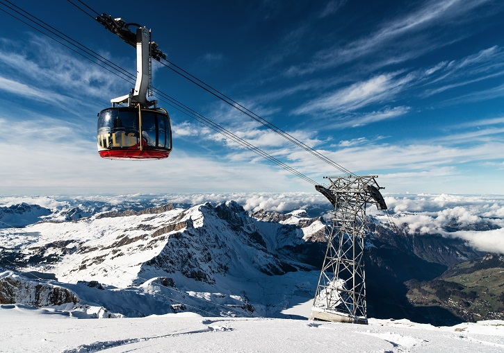 Cable cars to the summit ©Engelberg-Titlus Tourism