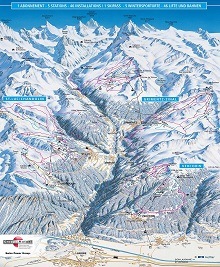 Val d'Anniviers Map