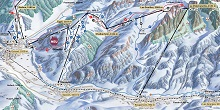 Gstaad Ski Trail Map