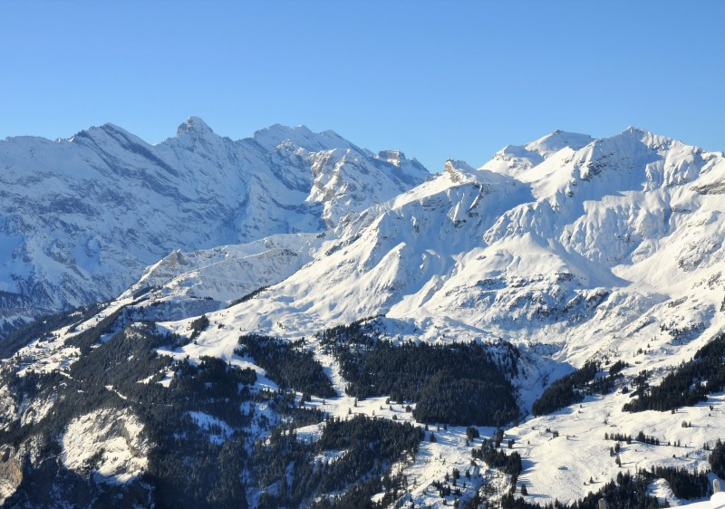 Mürren Schilthorn ski resort Switzerland