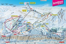 Mürren Schilthorn Ski Trail Map