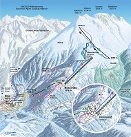 Rosswald Ski Trail Map