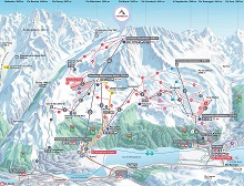 Corvatsch Ski Trail Map