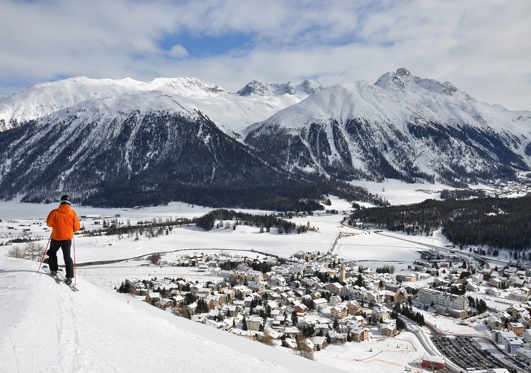 Celerina, part of Corviglia ski area, is an alternative to staying in St Moritz.