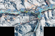 St Moritz Cross Country Ski Trail Map