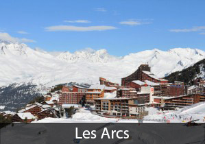 Les Arcs France: 3rd best overall rated ski resort in Europe