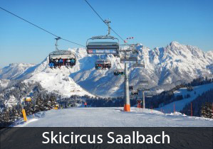 Skicircus Saalbach Austria: #1 best overall rated ski resort in Europe