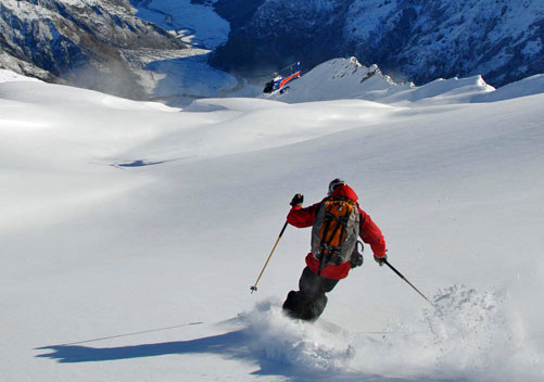 Harris Mountains Heliski - New Zealand