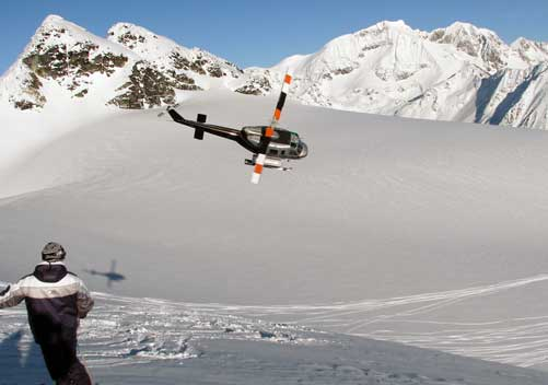 Selkirk Tangiers Helicopter Skiing Revelstoke Canada