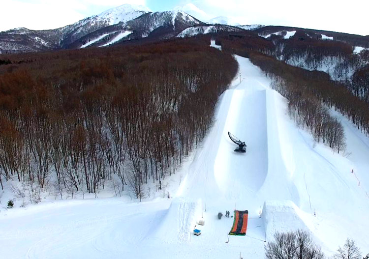 No surprise that Aomori Spring is home to freestyle camps