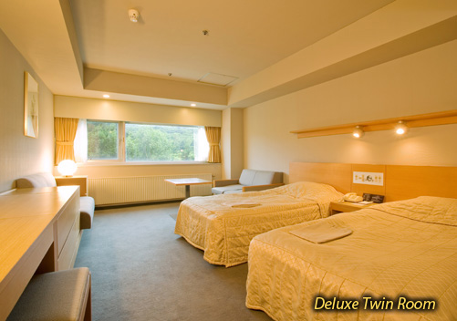 The Hotel Appi Grand is a large upscale hotel located at the base of the Appi Kogen ski resort. The Appi hotel has great facilities.