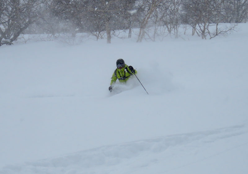 Kurodake is an amazing powder destination