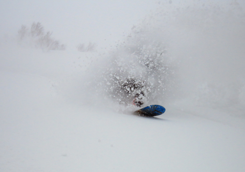 Cat skiing gives easy access to amazing powder