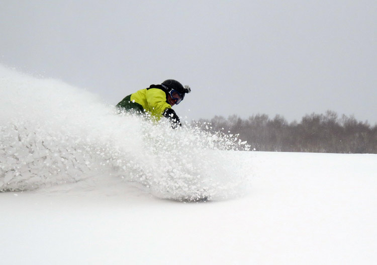 Open piste at Niseko Weiss