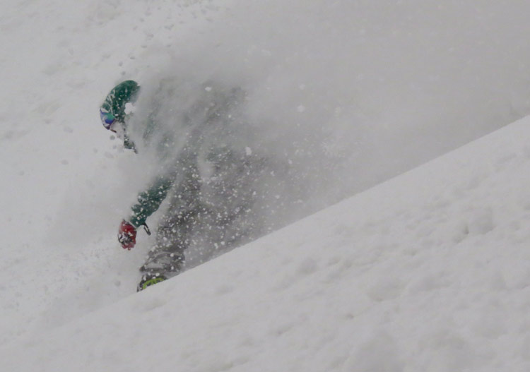 It's all about the powder