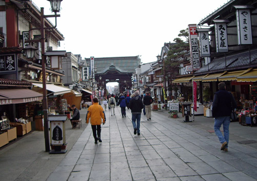 Nagano is close by for cultural sightseeing trips