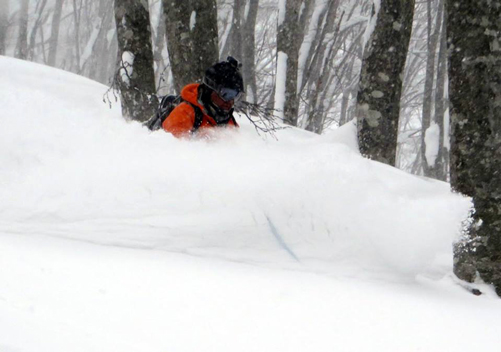 The Hakuba snow can get deep!