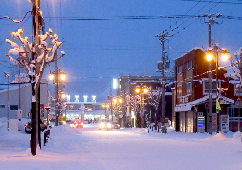 Kutchan is one of the snowiest towns in the world
