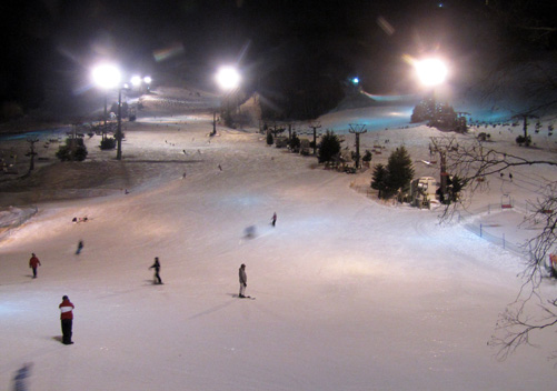 Naeba Night Skiing