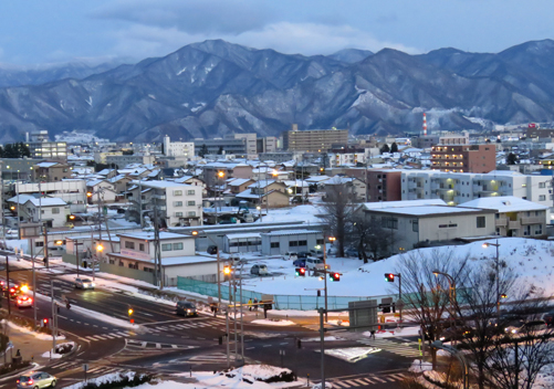 The city is a gateway to lots of Nagano ski resorts
