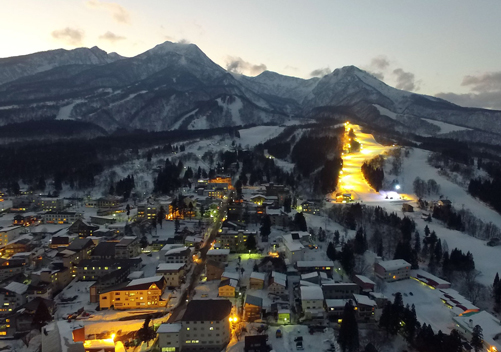Myoko Kogen is in the Niigata Prefecture but close to Nagano City