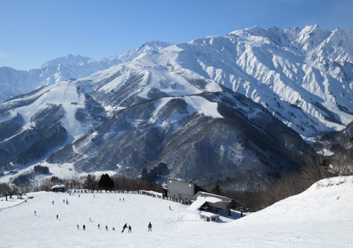 Happo One at Hakuba Japan